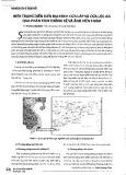 Hiện trạng diễn biến địa hình Cửa Lấp và Cửa Lộc An qua phân tích thống kê và ảnh viễn thám