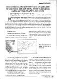 Ảnh hưởng của các quá trình động lực sông biển tới hiện trạng diễn biến bồi tụ - xói lở và biến động đường bờ vùng Cửa Lấp và Cửa Lộc An
