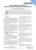 Cơ sở lý luận khoa học và tiêu chí đề xuất lưới trạm khí tượng giám sát biến đổi khí hậu