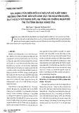Tác động của biến đổi khí hậu và đề xuất định hướng ứng phó đối với lĩnh vực tài nguyên nước, quy hoạch sử dụng đất, hạ tầng và chống ngập đô thị tại tỉnh Bà Rịa - Vũng Tàu