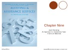 Lecture Auditing and assurance services (International edition) - Chapter 9: Audit sampling: An application to substantive tests of account balances