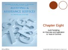 Lecture Auditing and assurance services (International edition) - Chapter 8: Audit sampling: An overview and application to tests of controls