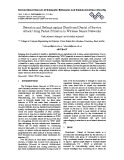 Detection and defense against distributed denial of service attack using packet filtration in wireless sensor networks
