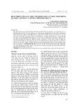 Phát triển năng lực thực hành hóa học của học sinh trong dạy học chương 9 - chương trình hóa học 11