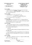 Đề thi tuyển HSG lớp 9 môn Toán năm 2012 - 2013 - Sở GD&ĐT Hải Dương