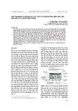 Thử nghiệm và đánh giá các yếu tố ảnh hưởng đến mức độ bão hòa của biến dòng điện