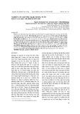 Nghiên cứu hấp phụ Mn(II) trong nước bằng vật liệu graphene bùn đỏ