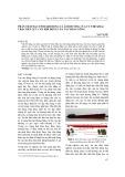 Phân tích đặc tính khí động và ảnh hưởng của tư thế khai thác đến lực cản khí động của tàu hàng sông