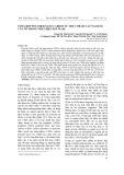 Tổng hợp polymer nano carbon từ thực phẩm và ứng dụng của nó trong phát hiện ion Pb (II)