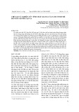 Chế tạo và nghiên cứu tính chất quang của nano tinh thể bán dẫn CdS pha tạp Cu