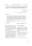 Ứng dụng của định lý Minimax cho bài toán tối ưu với ràng buộc phân bổ nguồn lực