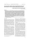 Ứng dụng phân cụm bán giám sát mờ trong phân tích và dự báo dữ liệu sản lượng cây nông nghiệp tỉnh Thái Nguyên