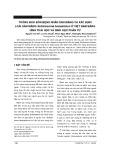 Thông báo bốn bệnh nhân sán máng và xác định loài sán máng schistosoma hematobium ở Việt Nam bằng hình thái học và sinh học phân tử