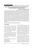 Ảnh hưởng của giãn tĩnh mạch tinh lên nồng độ LH và testosterone ở nam giới vô sinh