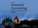 Lecture Financial accounting in an economic context (9th edition): Chapter 1 – Jamie Pratt