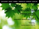 Lecture Accounting principles – Chapter 14: Corporations: Additional topics and IFRS
