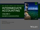 Lecture Intermediate accounting (Volume 2, 11th Canadian edition) – Chapter 22: Statement of cash flows