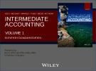 Lecture Intermediate accounting (Volume 1, 11th Canadian edition) – Chapter 2: Conceptual framework underlying financial reporting