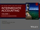 Lecture Intermediate accounting (Volume 1, 11th Canadian edition) – Chapter 10: Property, plant, and equipment: Accounting model basics