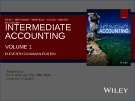 Lecture Intermediate accounting (Volume 1, 11th Canadian edition) – Chapter 1: The Canadian financial reporting environment