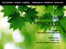 Lecture Accounting principles – Chapter 7: Internal control and cash