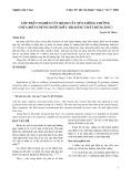 Góp phần nghiên cứu bệnh vẩy nến thông thường chưa biến chứng được điều trị bằng chất kẽm (Zinc)