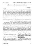 Chẩn đoán và điều trị bệnh nhân thiếu máu tại BV nhi đồng 1