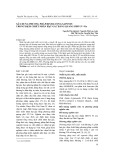 Xây dựng phương pháp định lượng saponin trong dịch chiết nhân hạt gấc bằng quang phổ UV-Vis