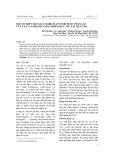 Một số hợp chất glucoside flavonoid được phân lập từ lá xạ can Belamcanda chinensis (L.) Dc. tại Việt Nam