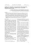 Nghiên cứu ảnh hưởng của mật độ trồng đến sinh trưởng, phát triển của giống dưa chuột lai GL1-2 vụ xuân hè năm 2017 tại Thái Nguyên