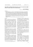 Tổng hợp và đánh giá khả năng xúc tác của vật liệu MCF biến tính sắt trong phản ứng oxi hóa phenol