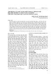 Ảnh hưởng của liều lượng phân đạm và chế độ tưới đến sinh trưởng và năng suất lúa OM5451 trên đất xâm nhập mặn tại Long Mỹ, Hậu Giang