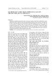 Xác định loài và thực trạng nhiễm sán lá gan lớn trên đàn trâu, bò của tỉnh Sơn La