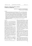 Biểu hiện và tinh sạch amidase aliphatic từ Rhodococcus erythropolis PR4