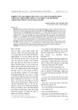 Nghiên cứu đặc điểm lâm sàng, cận lâm sàng bệnh nhân viêm tai ứ dịch trên viêm V.a tại khoa Tai mũi họng - Bệnh viện Trung ương Thái Nguyên