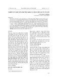 Nghiên cứu khả năng hấp phụ Mn(II) của than chế tạo từ cây sen