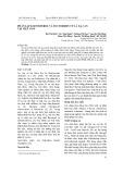 Phân lập β-sitosterol và tectoridin từ lá xạ can tại Việt Nam