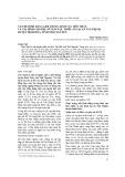 Vấn đề bình đẳng giới trong lĩnh vực hôn nhân và gia đình cho phụ nữ dân tộc thiểu số tại xã Tân Thịnh, huyện Định Hóa, tỉnh Thái Nguyên