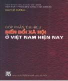 Biến đổi xã hội - Góp phần tìm hiểu chúng ở Việt Nam hiện nay: Phần 1