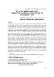 Mô tả tình hình sử dụng thuốc tại bệnh viện Nguyễn Đình Chiểu tỉnh Bến Tre giai đoạn 2011-2017