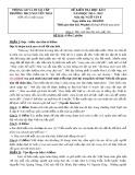 Bộ đề thi học kì 2 môn Ngữ văn khối lớp 8