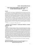 Thực trạng đồng nhiễm HIV ở bệnh nhân lao tại Việt Nam giai đoạn 2011-2017