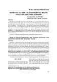 Nghiên cứu đặc điểm lâm sàng và kết quả điều trị cơn co giật chức năng ở tân binh