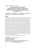 Ứng dụng mô hình Holt-Winters trong phân tích xu hướng sử dụng thuốc: Nghiên cứu tại Bệnh viện Tâm thần tỉnh Bến Tre giai đoạn 2010-2017