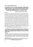 Xác định một số yếu tố tiên lượng nặng ở bệnh nhân nhiễm khuẩn huyết do stenotrophomonas maltophilia được điều trị tại Bệnh viện Quân y 103 và Bệnh viện Trung ương Quân đội 108 (01-2014 đến 10-2018)
