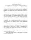 Tóm tắt Luận văn Thạc sỹ Ngân hàng: Nâng cao hiệu quả tín dụng đầu tư phát triển đối với khối kinh tế trung ương tại Sở Giao dịch I – Ngân hàng phát triển Việt Nam