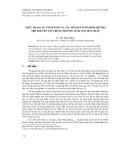 Thực trạng sự vận hành của các thành tố mô hình hỗ trợ trẻ khuyết tật trong trường mầm non hòa nhập