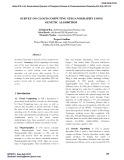 Survey on cloud computing steganography using genetic algorithm