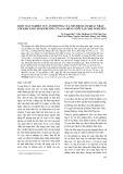 Bước đầu nghiên cứu ảnh hưởng của nền đệm lót khác nhau tới khả năng sinh trưởng của gà móng nuôi tại Thái Nguyên