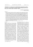 Ảnh hưởng của một số yếu tố môi trường lên khả năng hòa tan silic và mật số dòng vi khuẩn Olivibacter jilunii PTST_30 phân lập từ phân trùn ở tỉnh Sóc Trăng